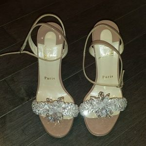 395ff61e8f81 Christian Louboutin Shoes - Christian Louboutin Crystal Queen Embellished